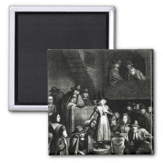 Reunión del Quaker, 1699 Imán Cuadrado