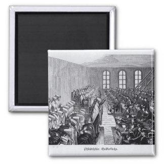 Reunión del Quaker, Philadelphia Imán Cuadrado