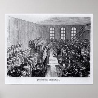 Reunión del Quaker, Philadelphia Impresiones