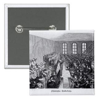 Reunión del Quaker, Philadelphia Pin