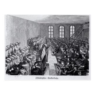 Reunión del Quaker, Philadelphia Postal