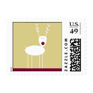 Reunión del reno sello postal