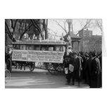 Reunión del sufragio, 1919 felicitación