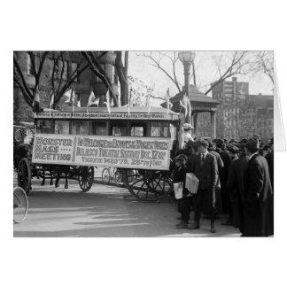 Reunión del sufragio 1919 felicitación