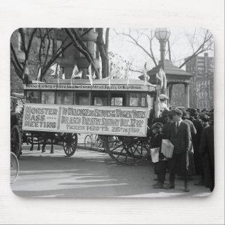 Reunión del sufragio, 1919 alfombrilla de raton