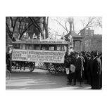 Reunión del sufragio, 1919 tarjetas postales