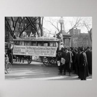 Reunión del sufragio de las mujeres, 1919 impresiones