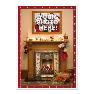 Reunión elegante de la fiesta de Navidad/de famili Invitaciones Personalizada