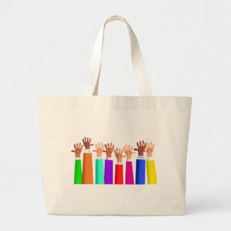 Reunión feliz bolsa de mano