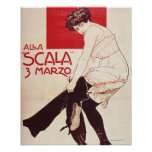 Reunión feminista de la liga socialista poster