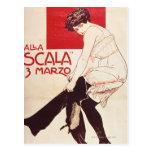 Reunión feminista de la liga socialista tarjetas postales