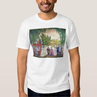 Reunión festiva, 1910 camisas