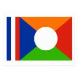 Réunion flag post cards