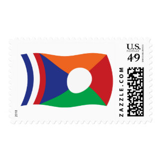 Reunion Flag Stamps