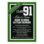 Reunión formal con clase de la High School Invitaciones Personales