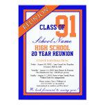 Reunión formal con clase de la High School Invitacion Personal