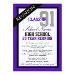 Reunión formal con clase de la High School Anuncio Personalizado