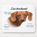 Reunión lisa del Dachshund la raza Tapete De Raton