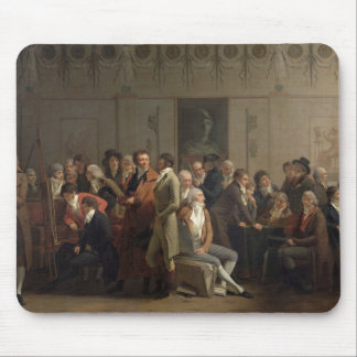 Reunion of Artists in the Studio of Isabey, 1798 Mouse Pad