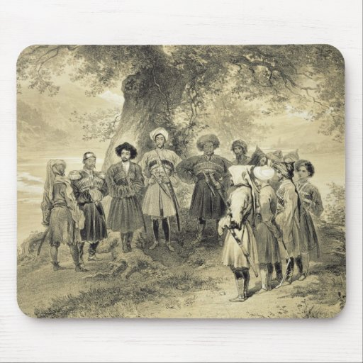 Reunion of Tcherkesse Princes, Sodja Valley, on th Mouse Pad