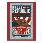 Reunión para la postal de la república