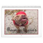 Reunion Rescue 2013 Singing Pit Bulls Calendar