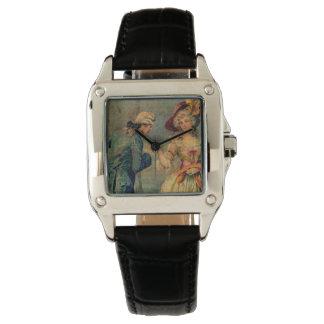 Reunión romántica reloj de mano