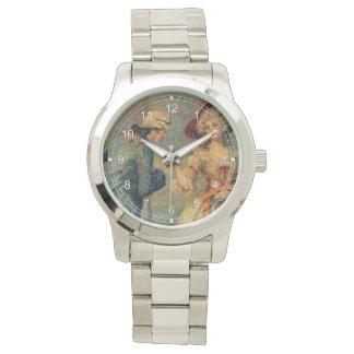 Reunión romántica relojes de pulsera