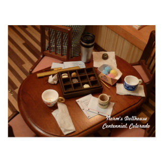 Reunión sucia en miniatura tarjeta postal