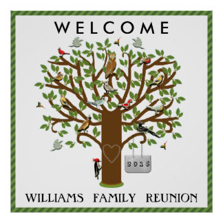 Reunion Welcome Poster