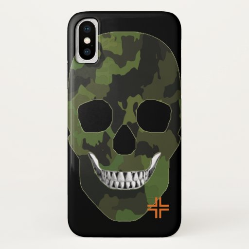 REUNIONES Army funda iPhone X iPhone X Case
