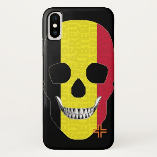 REUNIONES Belgica funda iPhone X iPhone X Case