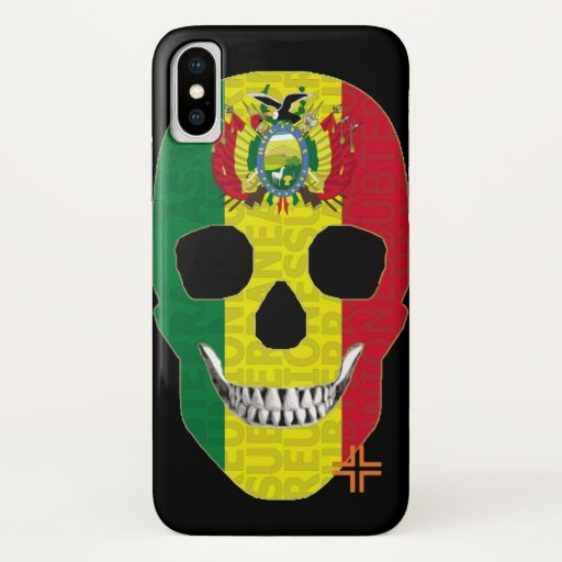 REUNIONES Bolivia funda iPhone X iPhone X Case