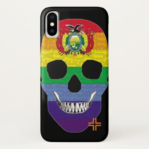 REUNIONES Boliviandino funda iPhone X iPhone X Case