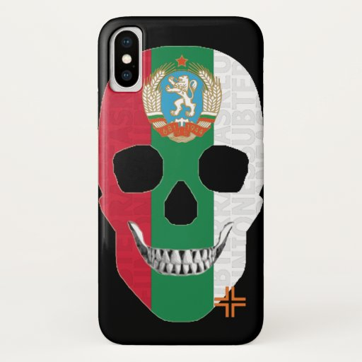 REUNIONES Bulgaria funda iPhone X iPhone X Case