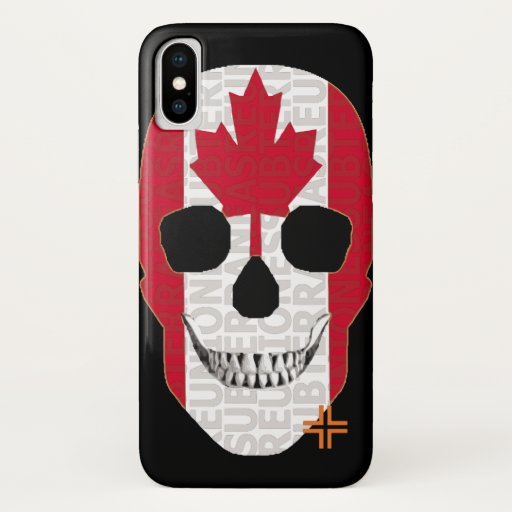 REUNIONES Canada funda iPhone X iPhone X Case