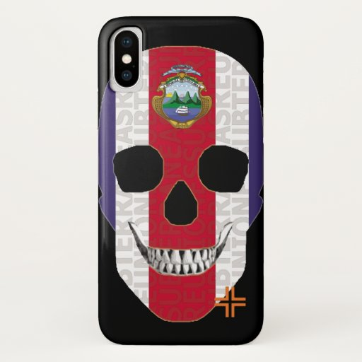 REUNIONES Costa Rica funda iPhone X iPhone X Case