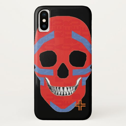 REUNIONES Crazy Head funda iPhone X iPhone X Case