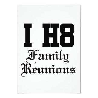 """reuniones de familia invitación 5"""" x 7"""""""