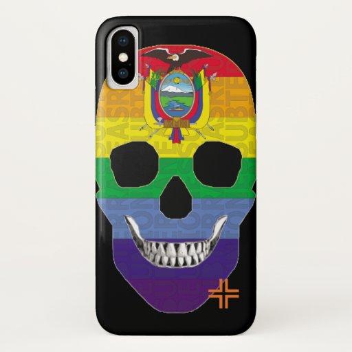REUNIONES Ecuadorandino funda iPhone X iPhone X Case