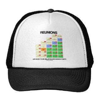 Reunions Are Made To Be Relative Discussion Points Trucker Hat
