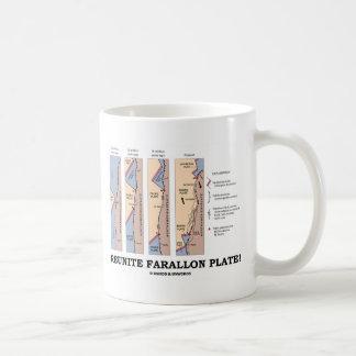 Reunite Farallon Plate! (Geology Plate Tectonics) Coffee Mug