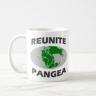Reunite Pangea Coffee Mugs