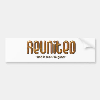 Reunited Custom Family Reunion Bumper Sticker