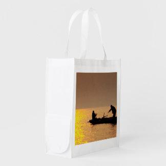 Reusable Bag NOVINO Deco Graphic add TEXT Image Market Totes