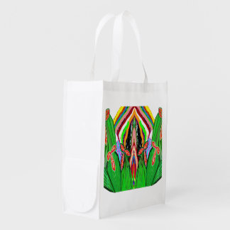 Reusable Bag NOVINO Deco Graphic add TEXT Image Grocery Bags