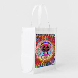 Reusable Bag NOVINO Deco Graphic add TEXT Image Market Tote