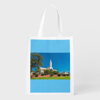 Reusable Bag With Los Angeles Temple Reusable Grocery Bag