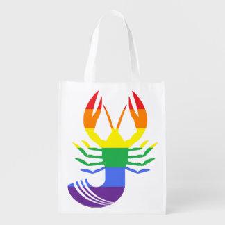 Reusable E-Craw-lity Grocery Bag