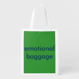 Reusable folding bag - Emotional Baggage